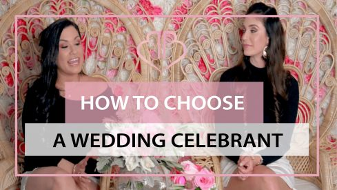 How to Choose a Wedding Celebrant (tips)