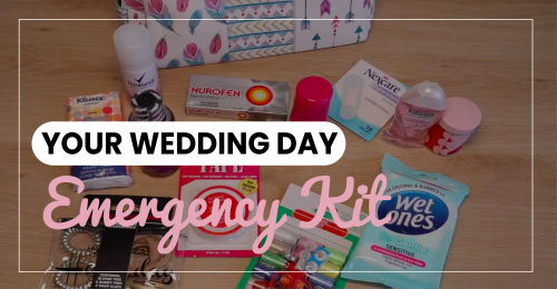 Wedding Day Emergency Kit (what to include)
