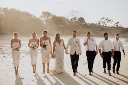 Anya & Brennon's Tropical Boho Kingscliff Wedding